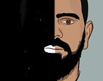 Ilustración vectorial staff