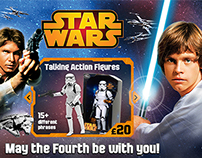 Star Wars - May the Fourth Online Campaign