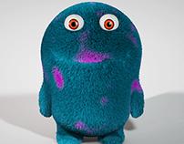 Fluffy monster
