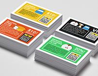 Flat Design Membership Cards
