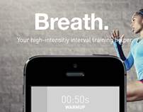 Breath – A Simple High-intensity Interval Helper