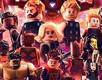Lego Avengers Infinity War Poster
