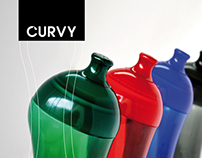 CURVY, Botella de Agua