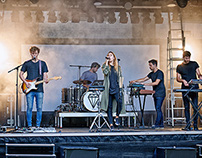 "CLAIRE ""The great escape""-Tour  / Soundcheck"