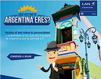 ¿Qué destino de Argentina eres? / LAN