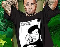 Jay Adams & Lauren Bacall
