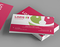 Lozis Consulting Services Ltd Business Card Design