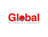 Global E-Travel Logotype Design