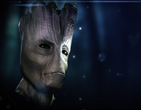 Guardians of the Galaxy's Groot Animation