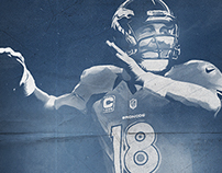 NFL: Sketch Series Illustrations