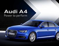 Audi A4 | Emailer