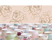 Vintage Tea - Brand Identity