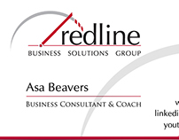 Redline Business Solutions Group - Business Cards