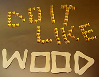 Do It Like Wood...( Stop Motion Animation.)