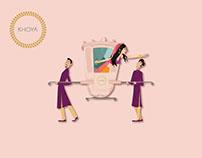 Khoya | Illustrations