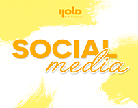 Social media: Coleção Hold Marketing
