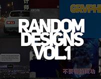 Random Designs Volume 1 | Grvphic