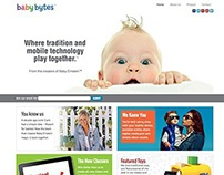 Custom Genesis Child Theme - Baby Bytes World