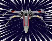 Geo-Symmetrical X-Wing