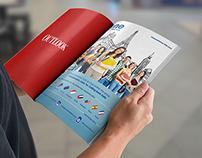 Magazine AD - One world Teleservices