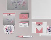 Misten Cosmetics Branding & Identity