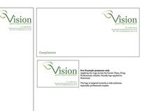 Branded Stationary for Vision Garden Design Ltd