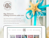 Olga Belousova wedding accessories online store