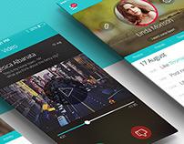 iOS Phone Full Mobile App UI Design