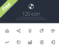 120 Icon set - Free download