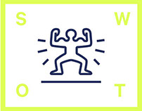 SWOT analysis pictograms