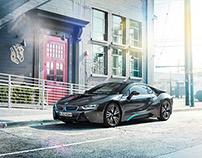 Postproduction & Lookentwicklung BMW i8