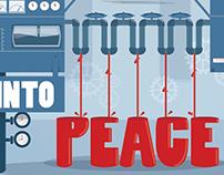 CHANGE WAR INTO PEACE