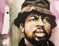 Painting Study - Jam Master Jay Tribute