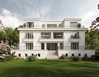 Architectural Visual - Villa Podbielskiallee