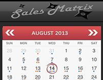 Sales Matrix - Account App