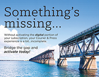 Bridge The Gap - Print/Digital Campaign