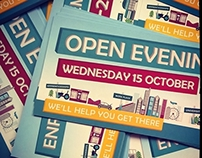 Sixth Form Open Evening Campaign