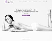 Institut de beauté Ang'elle & lui - Web Design - Shop