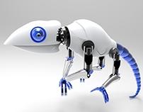 Robotic Lizard - 3D Rhinoceros Model