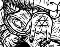 Ilustracion para Master Terror FANZINE 01 2011