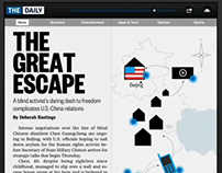 Interactive Map :: The Daily