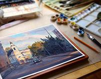 watercolor landscapes 2014 2