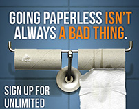 Go Paperless - Digital Campaign