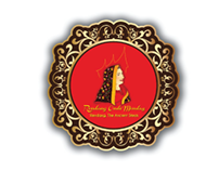 Brand Image Counter for Booth Culinary Exhibition