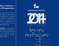 Europa Nova Festival Flyer 2014