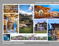 R + A Architecture Wordpress Theme