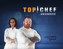 Top Chef University - Website Design