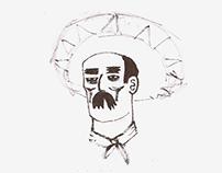 sketches - viva zapata!