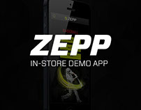 Zepp Labs In-Store Demo App
