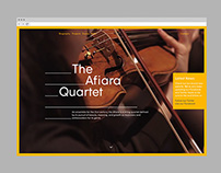 The Afiara Quartet Website